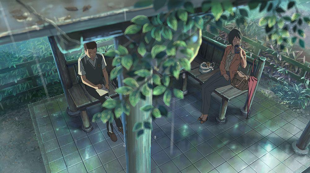 By Makoto Shinkai 言の葉の庭, 言の葉, 新海