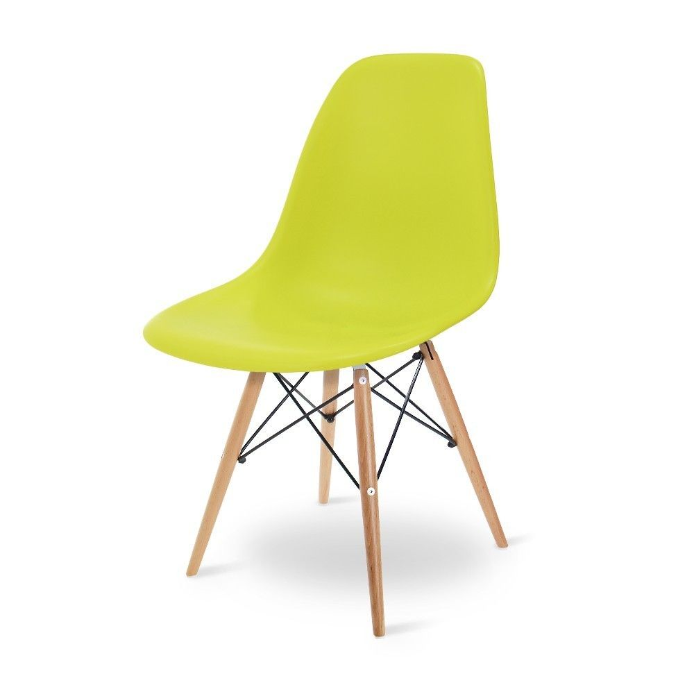 Eames Dsw Lime Green Dining Chairs Popfurniture Eames Dsw Eames Dining Chair Green Dining Chairs