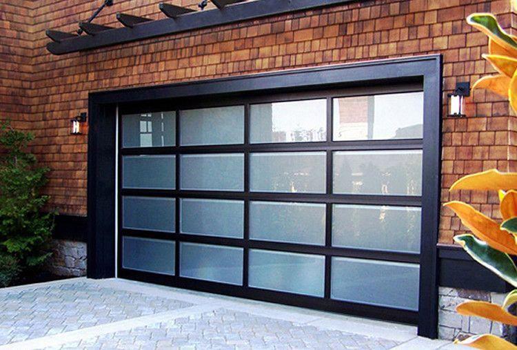 Striking Double Garage Doors Doublegaragedoors Glass Garage Door Garage Doors Glass Garage Door Cost