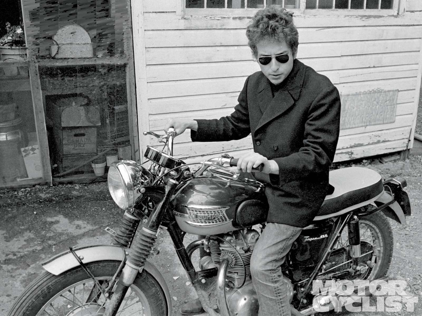 the bob dylan motorcycle crash - motorcyclist magazine | bob dylan