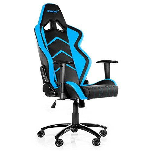 Pleasing Ak Racing Player Pc Gaming Chair Black Blue Ak K6014 Bl Machost Co Dining Chair Design Ideas Machostcouk