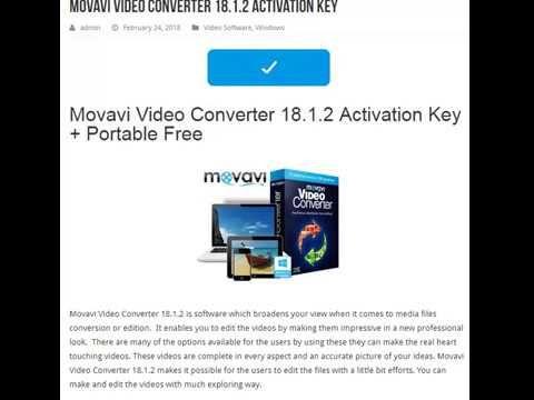 movavi activation key 18