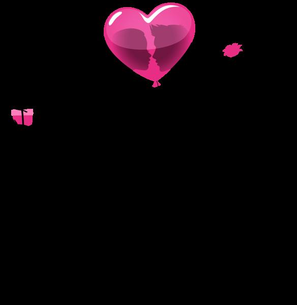 Imagem Casal Png ~ Valentine Silhuetas dos pares com Bal u00e3o Coraç u00e3o PNG Clip Imagem Quadros Decor Pinterest