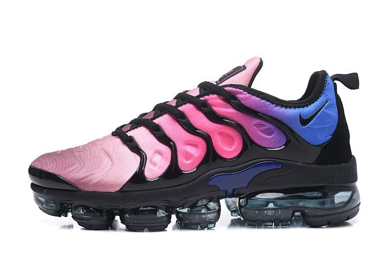 c00633bb7e01 Officiel 2018 TN Air VaporMax Plus Chaussures de Basket Pour Homme  Rouge Rainbow