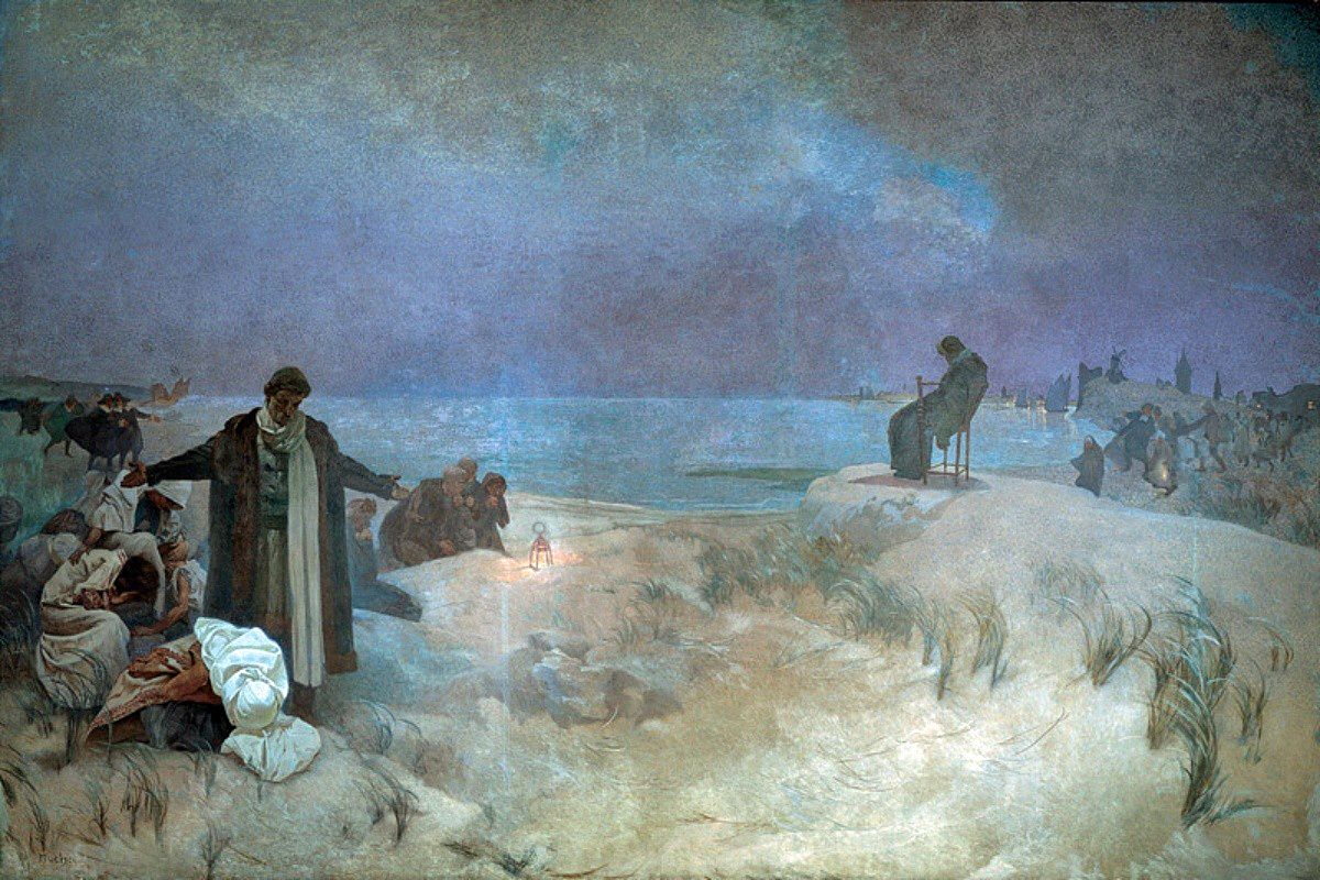 The Slav Epic -  16 - The Last days of Jan Amos Komenský in Naarden