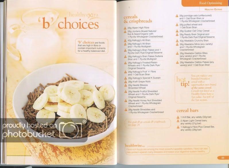 Slimming World Food Optimising Book Slimming World