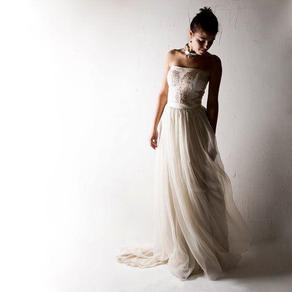 Brautkleid, Boho-Hochzeitskleid, Brautkleid, Pailletten ...
