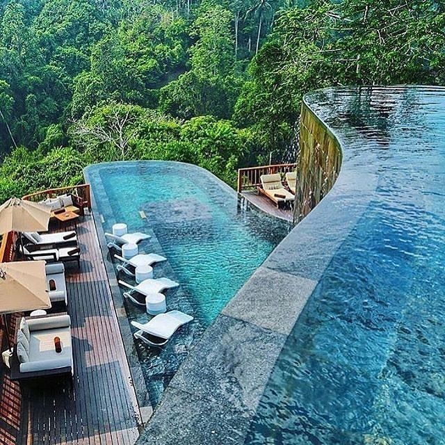 Hanging Gardens of Bali Indonesia. This resort features