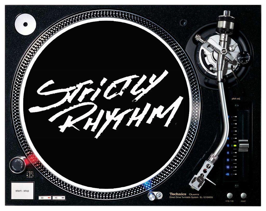Strictly Rhythm Records Logo Dj Slipmats Logos