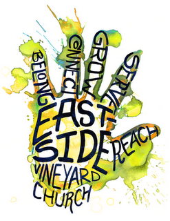 Logo Design for Eastside Vineyard Church t-shirts ...