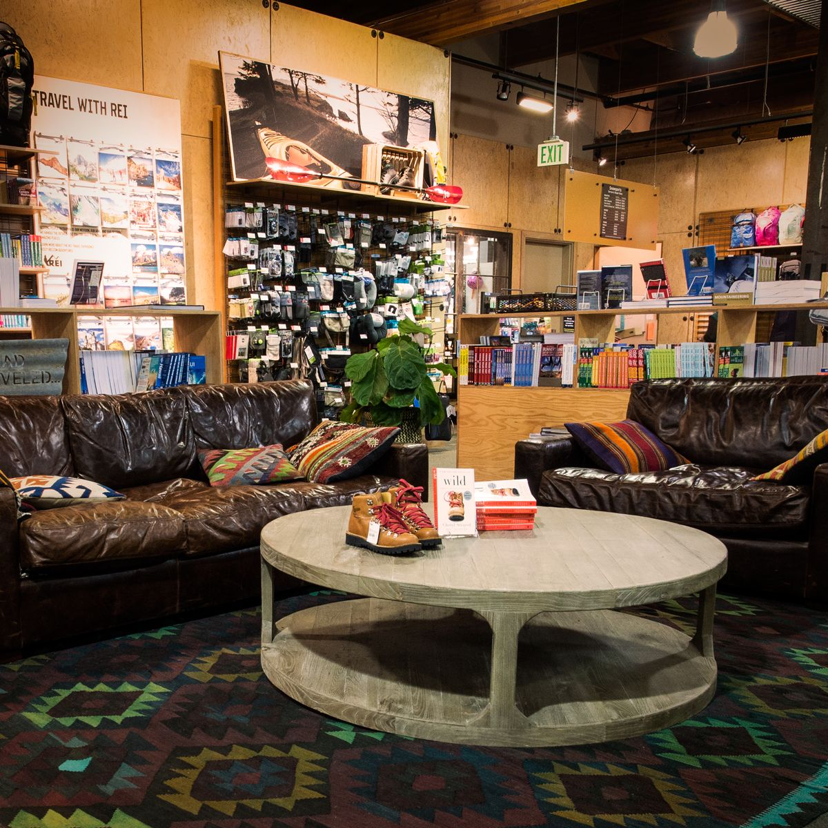Sit Back Relax And Plan A Trip At The Rei Flagship Store Rei