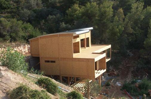 double-terrasse-maison-bois-piloti Maisons Pinterest House