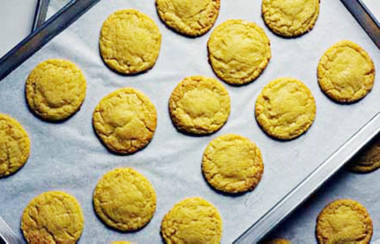Christina tosis corn cookies from momofuku milk bar