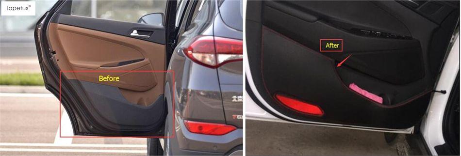 Accessories For Hyundai Tucson 2016 2017 Inner Car Door Anti Kick
