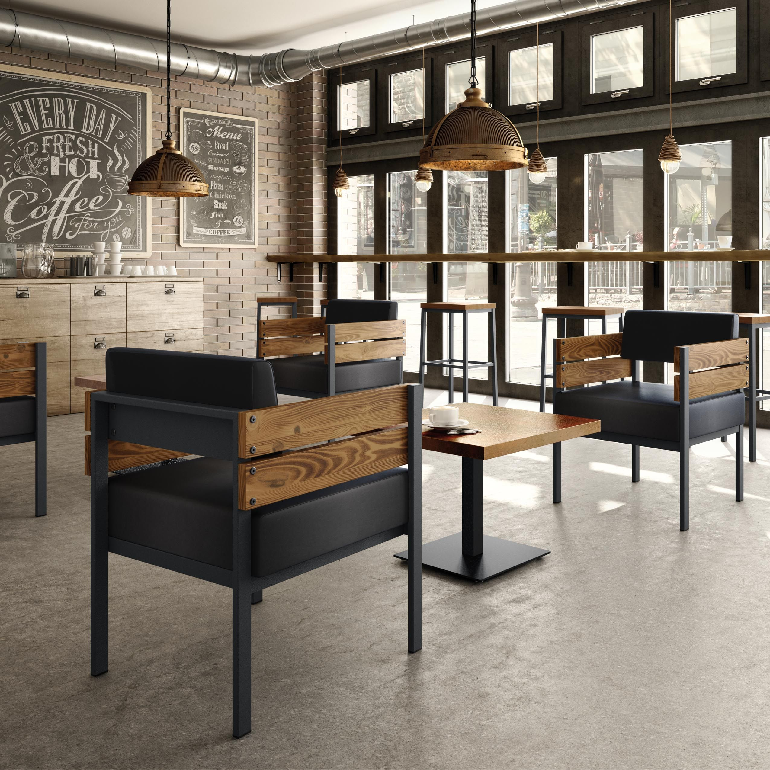 industrial restaurant furniture. AMISCO - Risley Chair (30438) Accent Furniture Industrial Collection  Contemporary Industrial Restaurant Furniture .