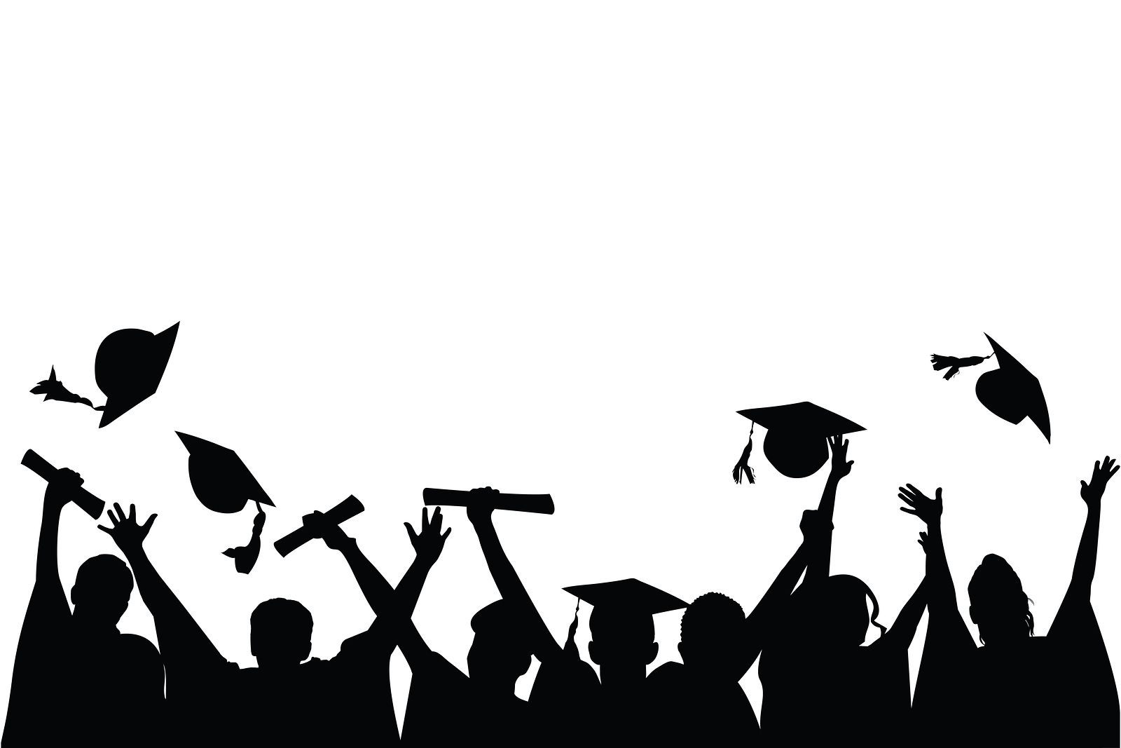 Graduation Silhouette Png