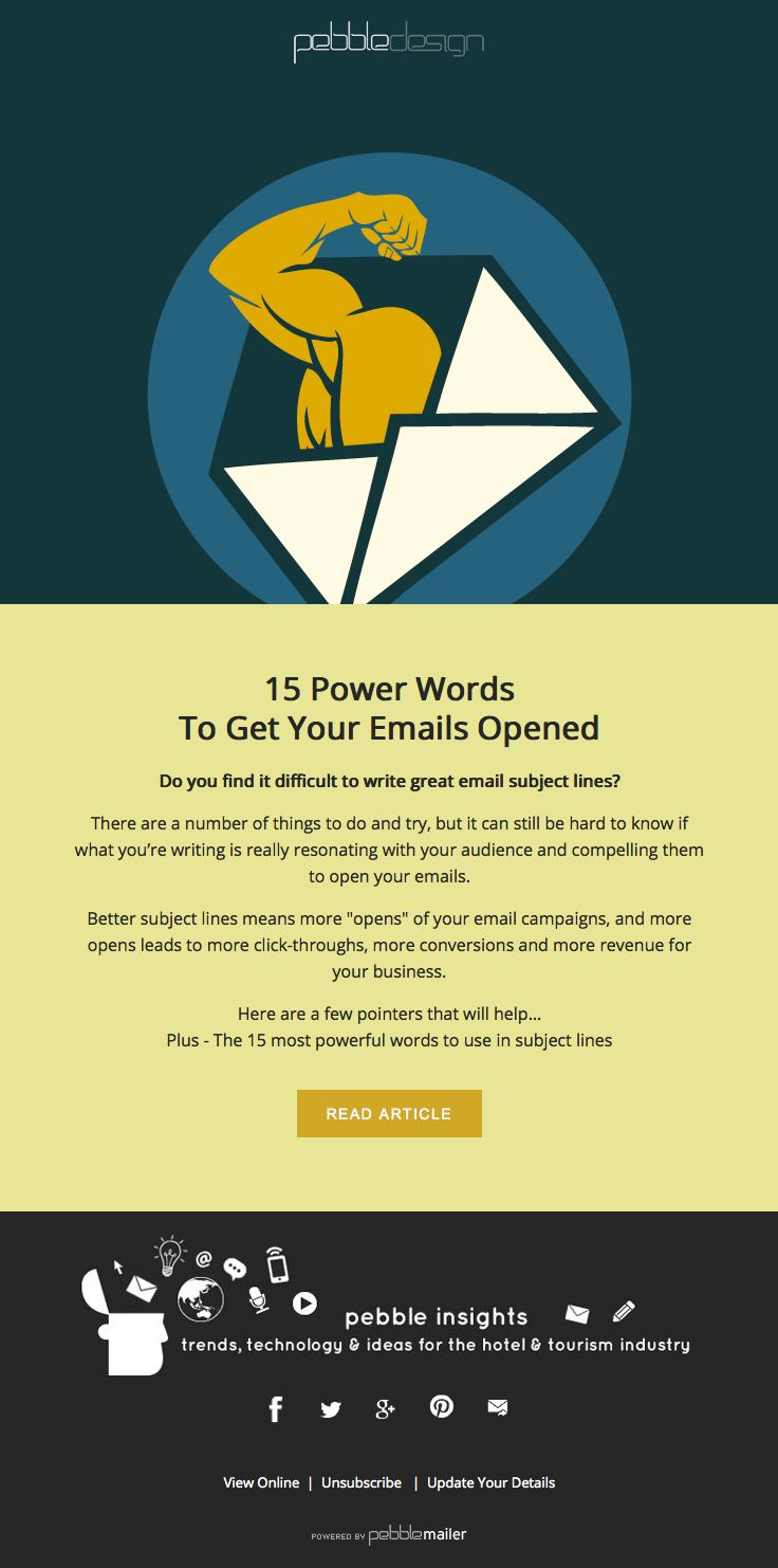 15 Power Words To Get Your Emails Opened Hospitality Insights