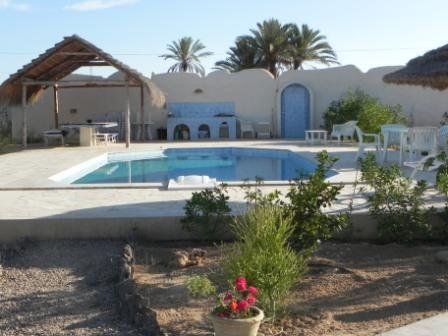 Superbe villa à Djerba, Tunisie, avec Patricia, une propriétaire