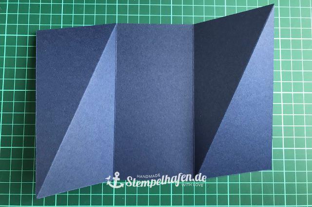 Photo of Anleitung zur diagonalen Faltkarte ⋆ Basteln mit Stampin' Up!