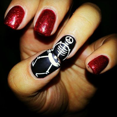 9 Of The Most Spooktacular Halloween Nails On Instagram