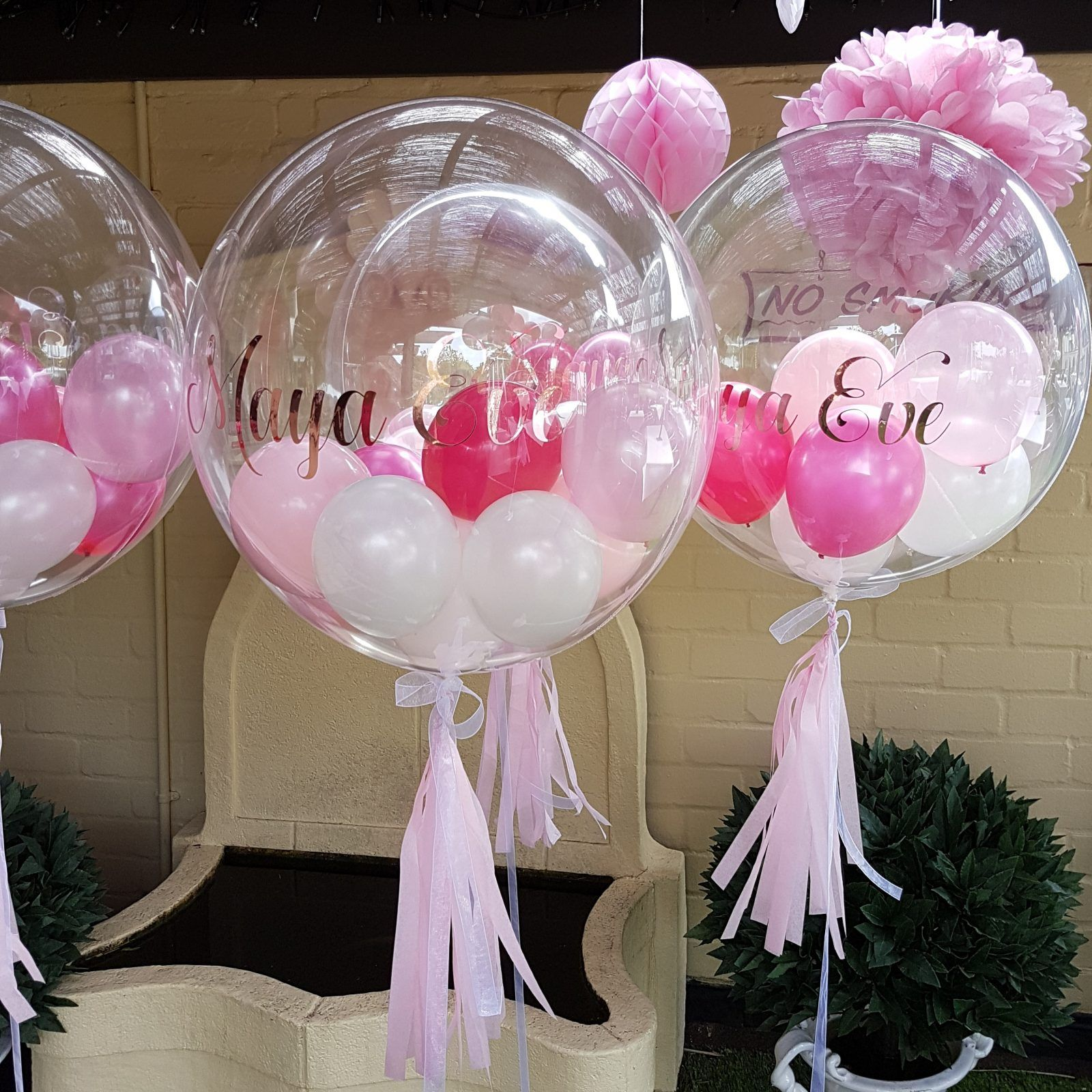 Bubbles, Balloons & Gifts Personalised Balloon Gifts. Created by Pink Tree Parties, Kirkham