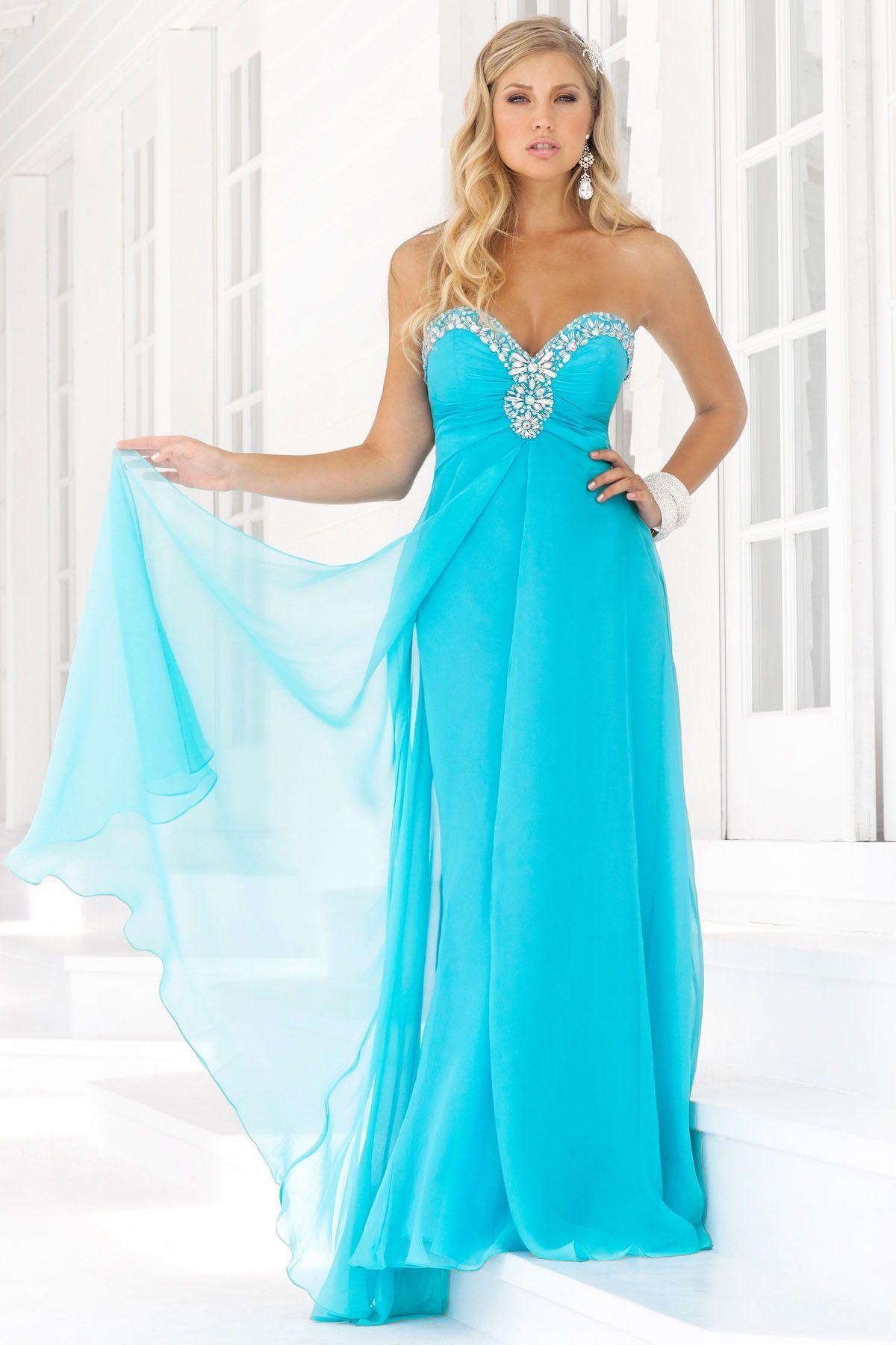 Elegant Prom Dresses, 2012 Elegant Empire Sweetheart-neck Brush ...