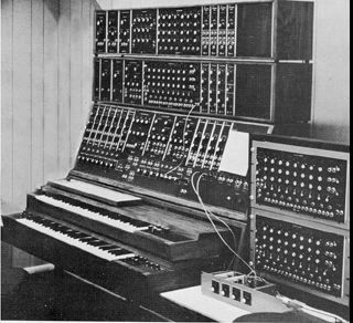 The moog Synthesizer  One of the first creations of the syth