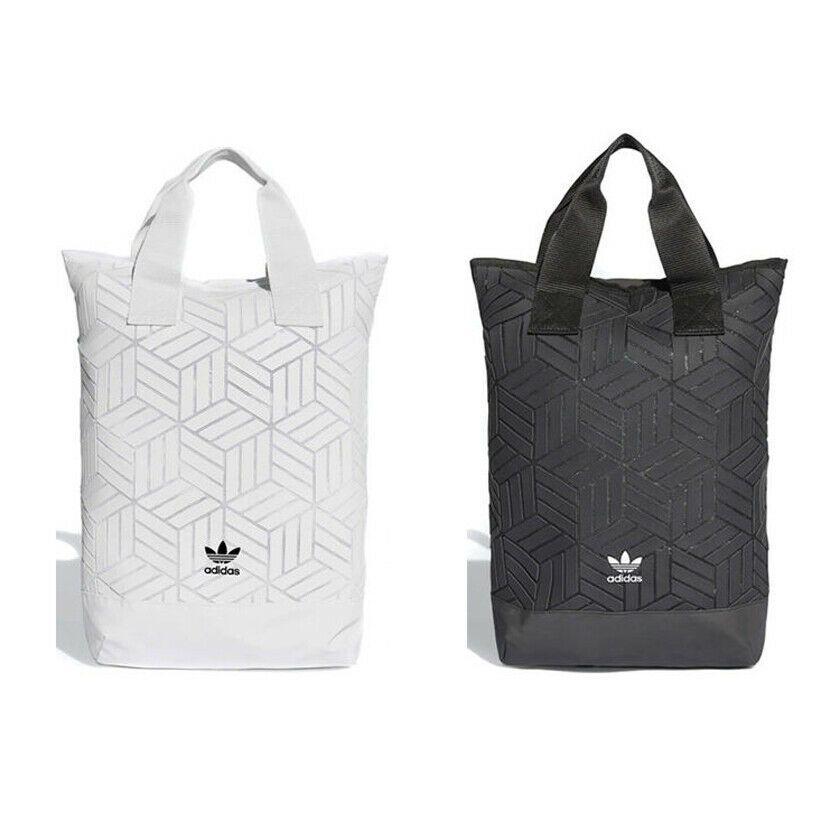 Ad Ebay Adidas Originals 3d Geometric Print Backpack Bag Black White Dv0202 Dv0101 Vintage Messenger Bag Backpack Brands Backpack Bags