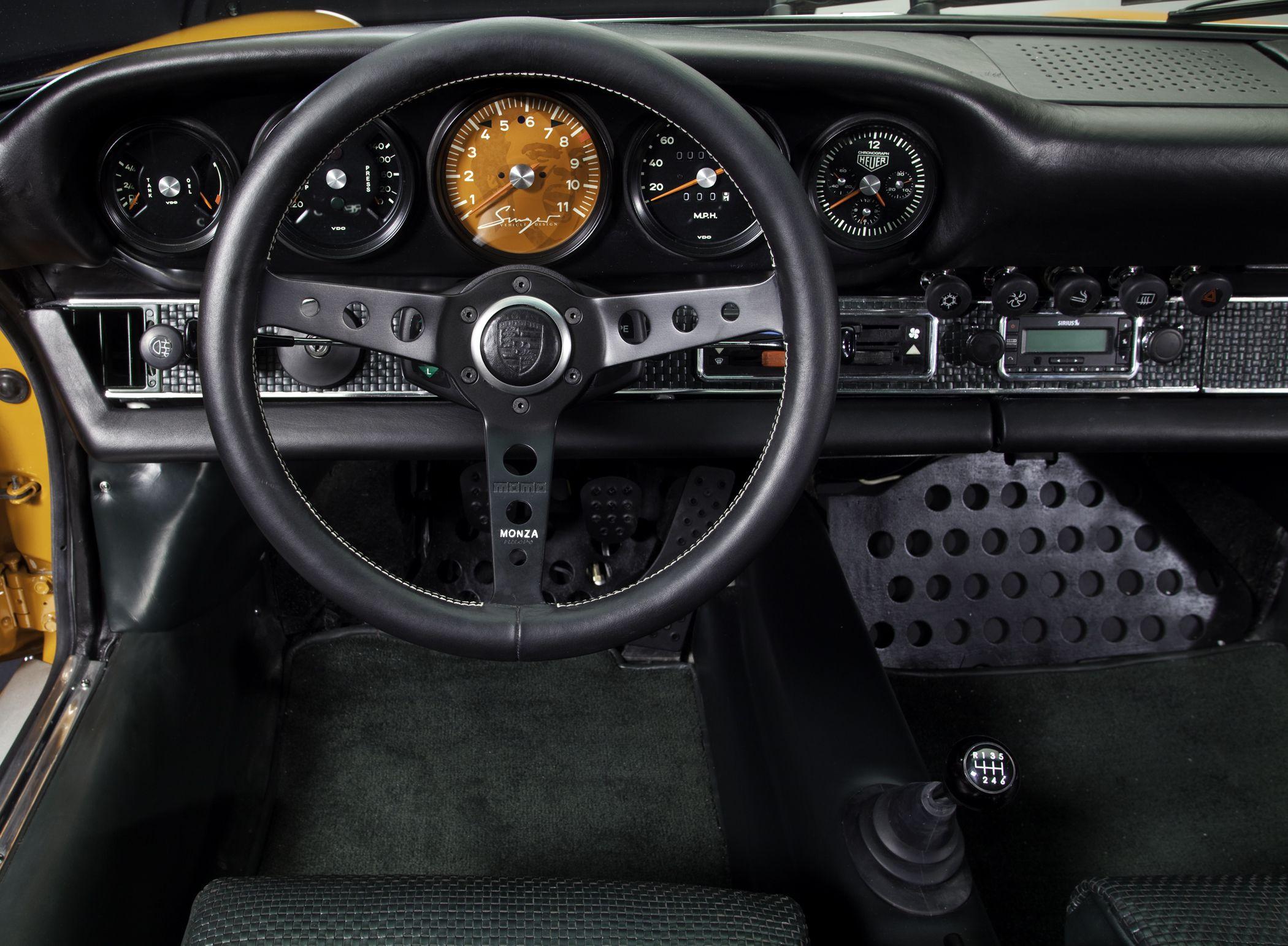 porsche 911 interior styled by singer design