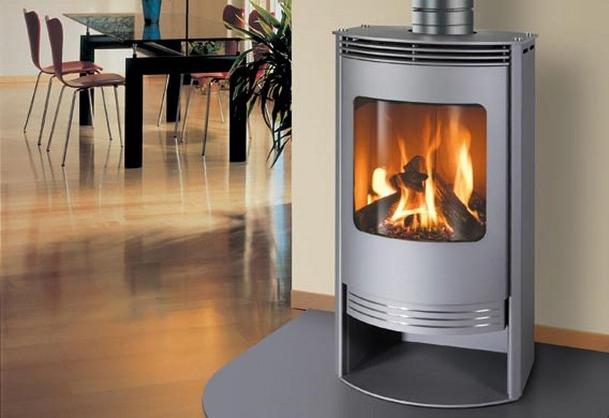 How To Install A Free Standing Gas Fireplace Modern | Home ...