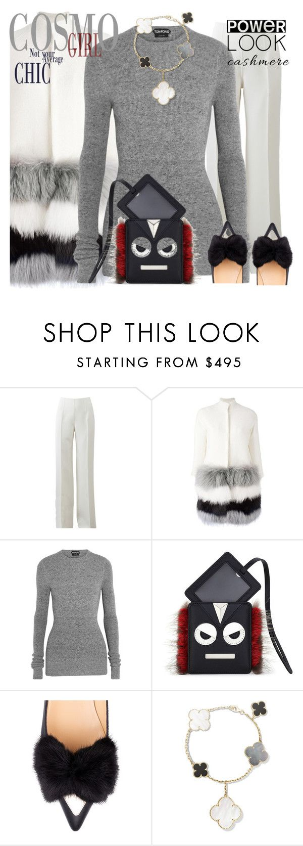 """Winter wear"" by ellenfischerbeauty ❤ liked on Polyvore featuring Michael Kors, Ava Adore, Tom Ford, Fendi and Eugenia Kim"