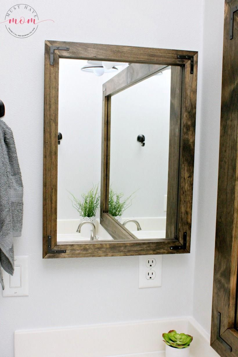 I Want A Spa Session At Home Diy Vanity Mirror Farmhouse