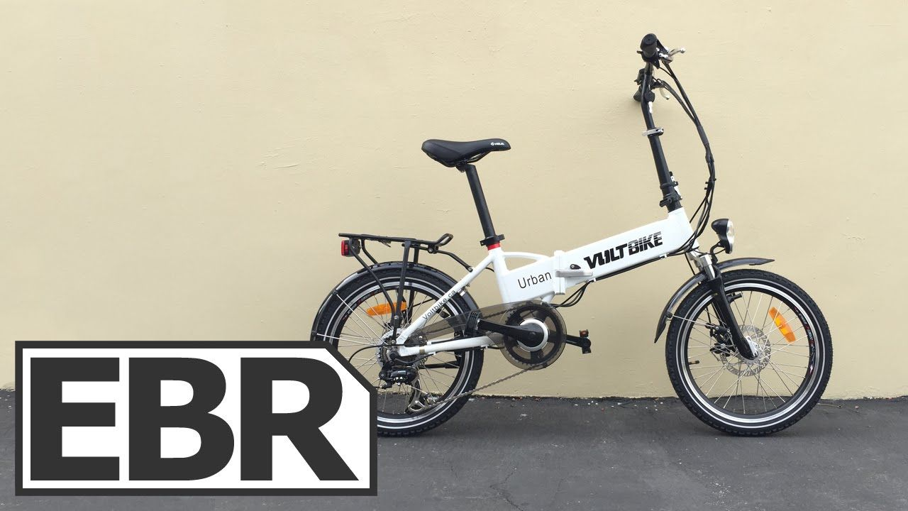Voltbike Urban Video Review Inexpensive Folding Electric Bike