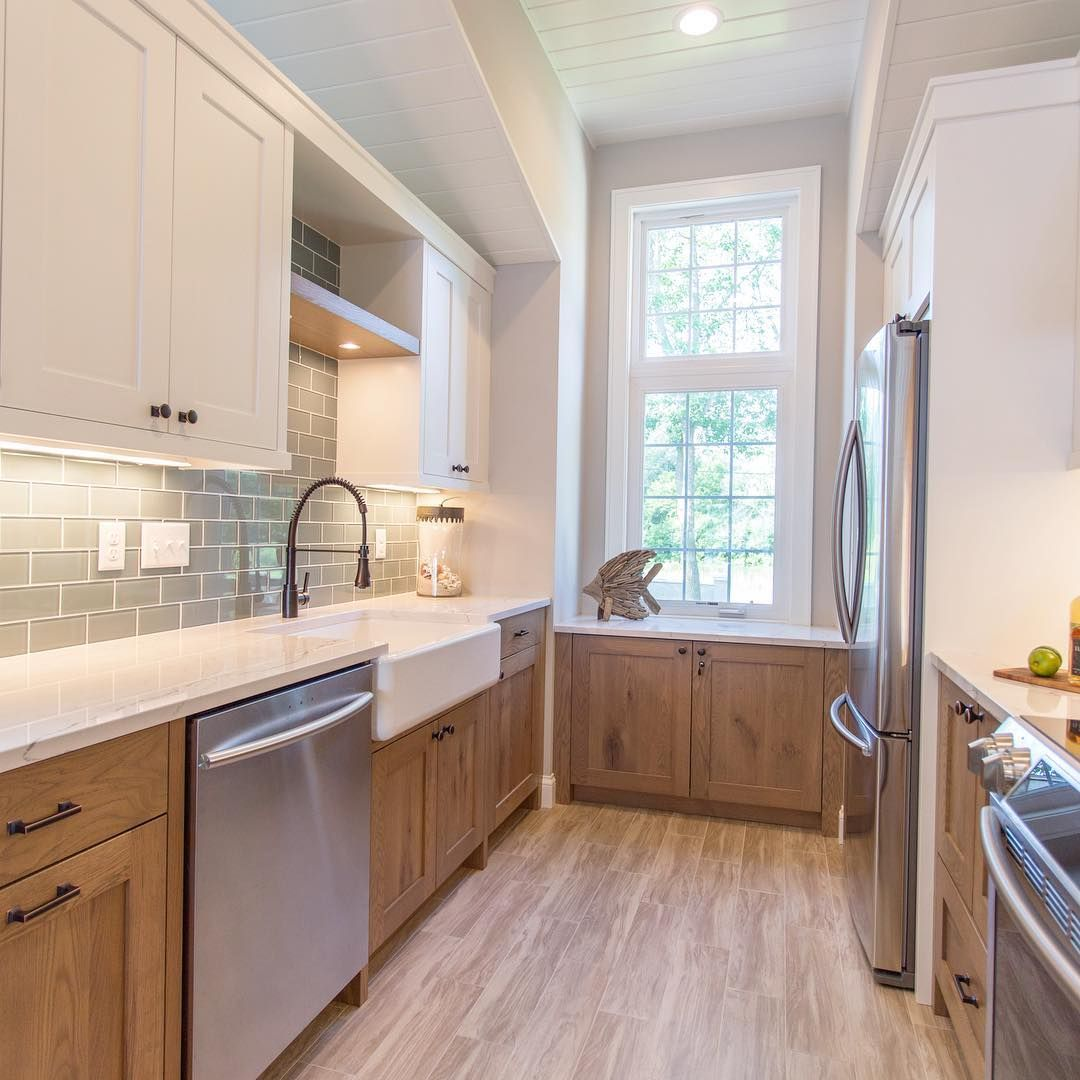 Kitchen Art Lebanon: Brightening Up This #lakehouse With Custom Cabinetry