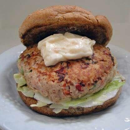 Super Healthy Tuna Burgers
