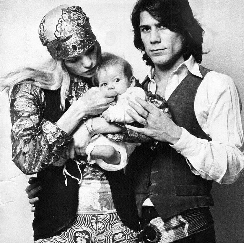 Salvador, mw and Alejandro NY 1968   Hipster babies, 70s
