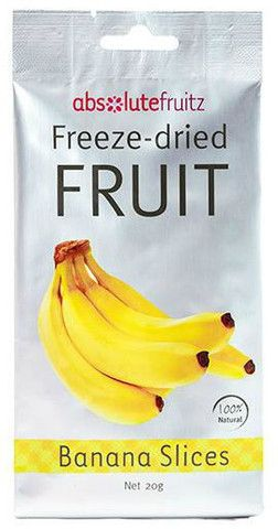 ABSOLUTE FRUITZ FREEZE DRIED BANANA SLICES