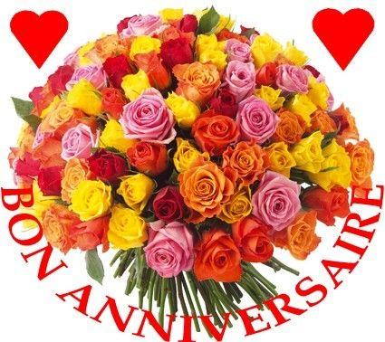 Fleursfacebook f te a partager bon anniversaire for Le bouquet nantais