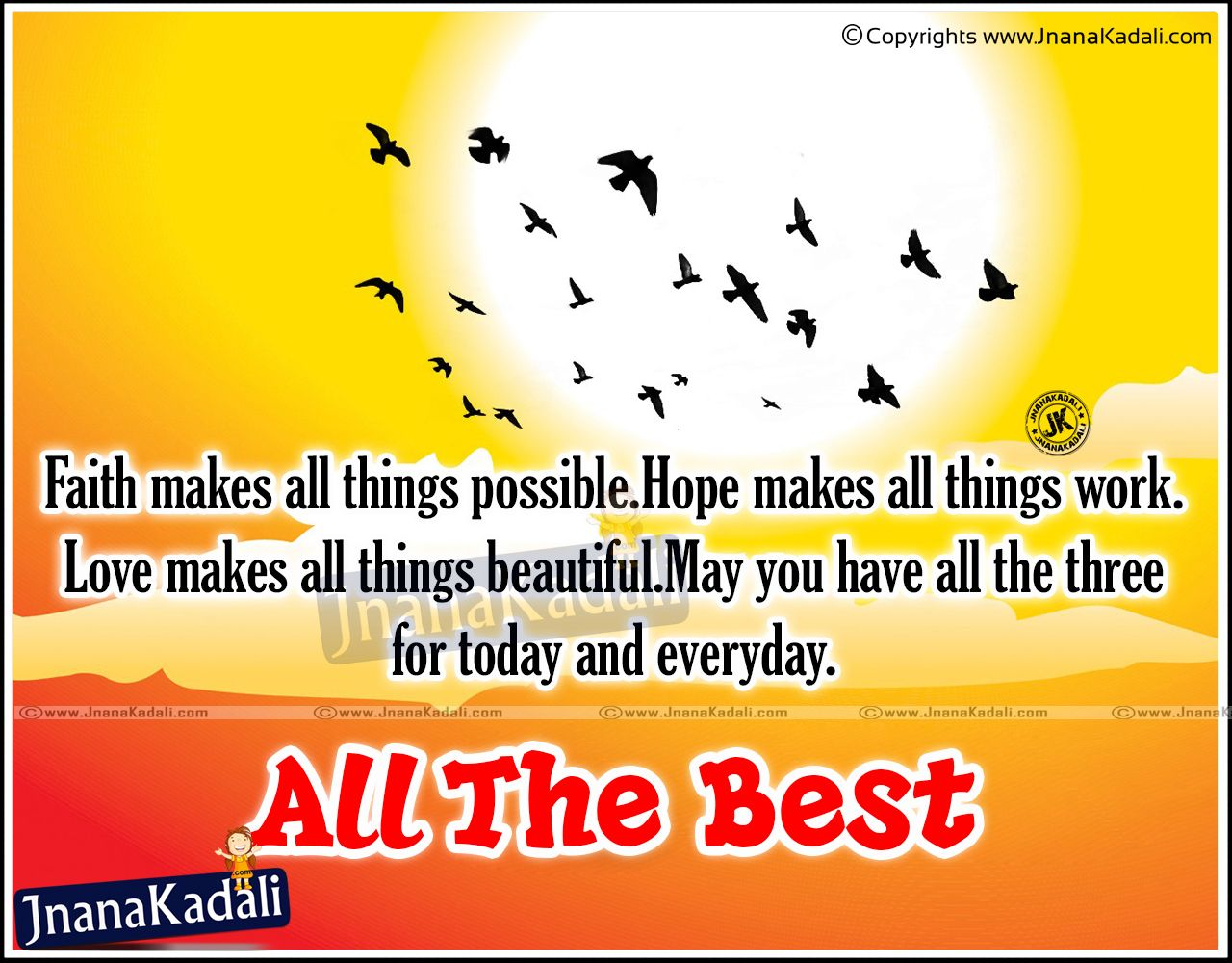 All The Best Wishes English Greetings Sms Quotes Images Good