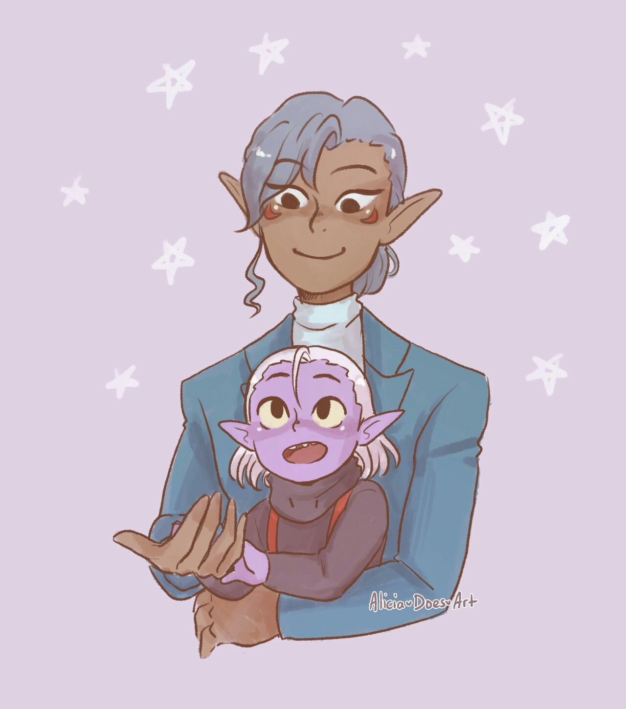 baby lotor and honerva (💔) | vld | voltron (vld) art | Form