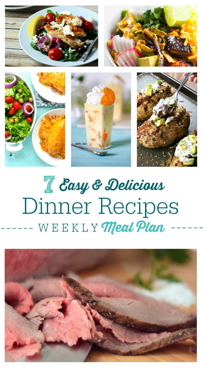 Easy dinner recipes for work