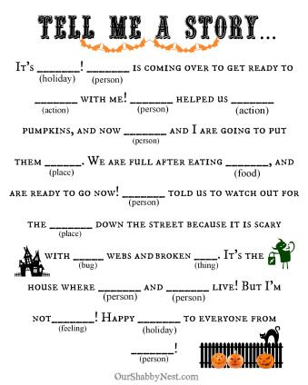 photo about Halloween Mad Libs Printable Free identify Halloween Insane Libs Halloween Halloween cl get together