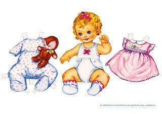 Bonecas de Papel: Eva Lisa Aghaton