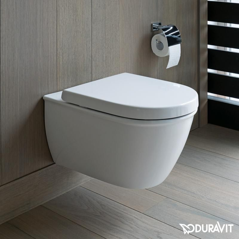 Duravit Darling New wall-mounted, washdown toilet, rimless | New ...