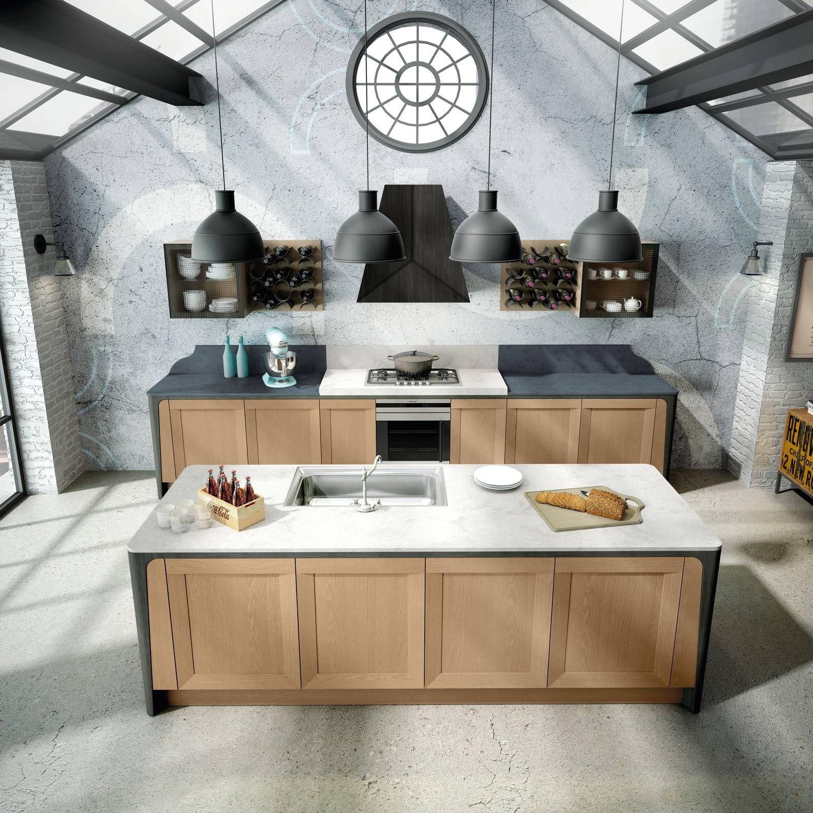 Spazi aperti e passaggi fluidi: la cucina con l\'isola privilegia ...
