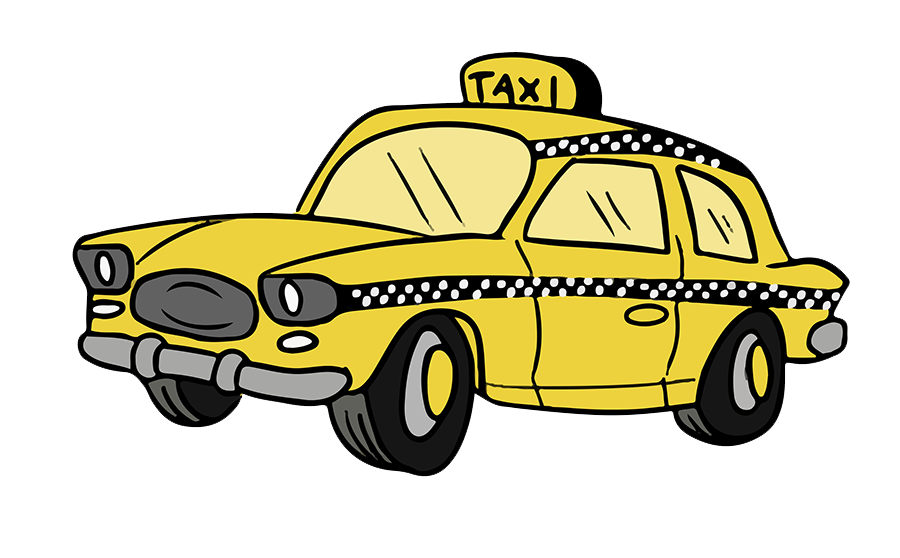 Pin By Elsa On Hard Draw Car Rental Yellow Taxi Love Png