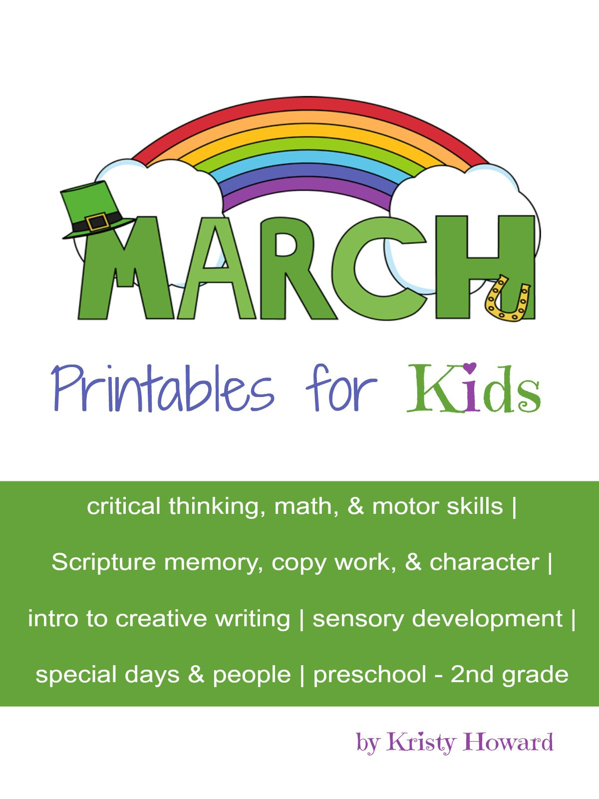 St Patrick S Day History For Kids Printable March