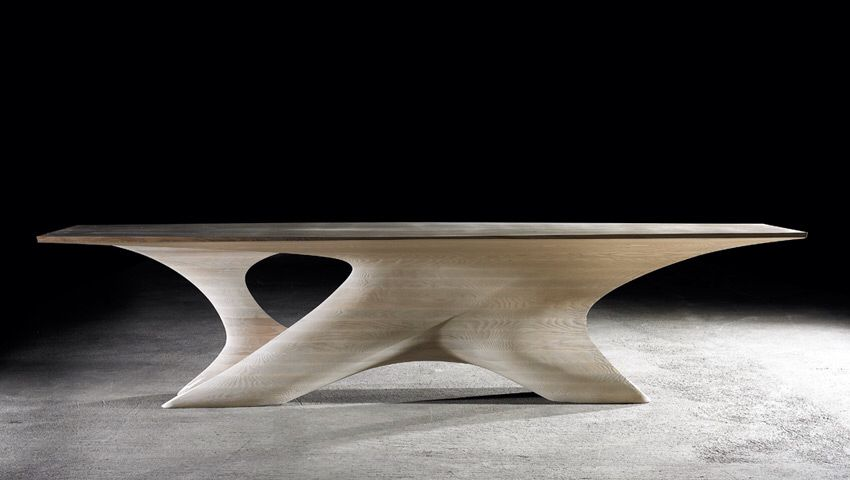 Dining table by Irish designer Joseph Walsh