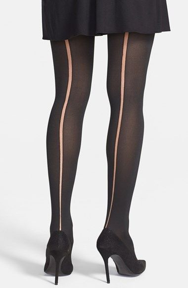 f609bae6238 Via Spiga Sheer Back Seam Tights available at  Nordstrom-  15 ...