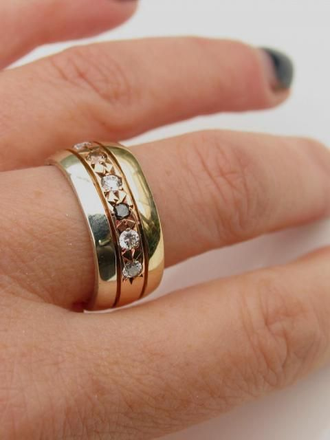 contemporary handmade unique New Zealand wedding rings Debra